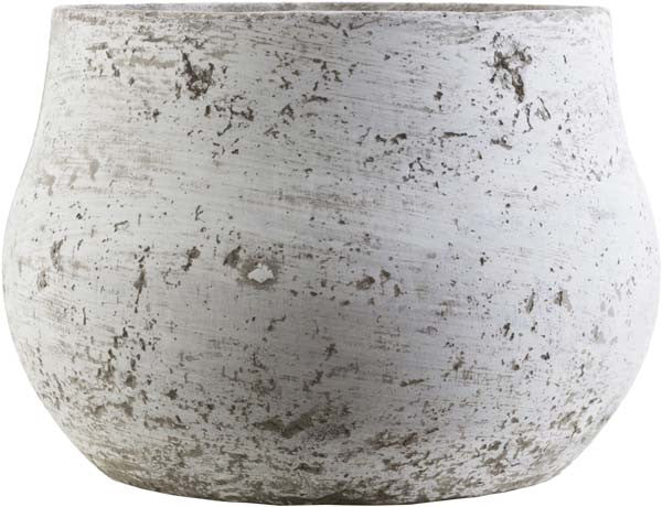 Rome Cottage Country Light Gray, Ivory Color Pot  small