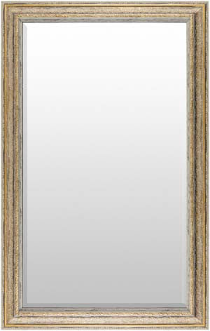 Roseville wall mirror gold