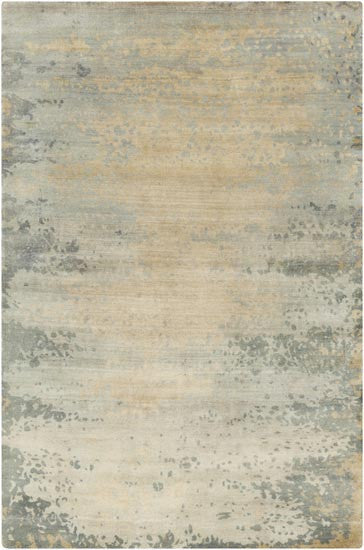 Surya Candice Olson Design Slice of Nature Rugs - Beige, Beige, Gold, Light Gray, Light Gray