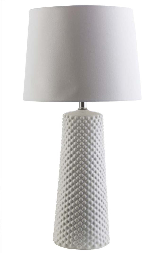 Bell White Wesley Table Lamp