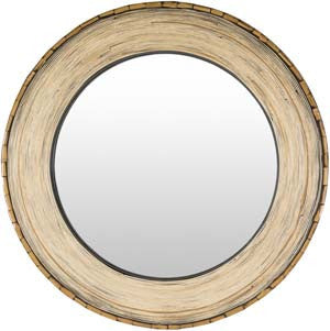 Woodlands wall mirror natural
