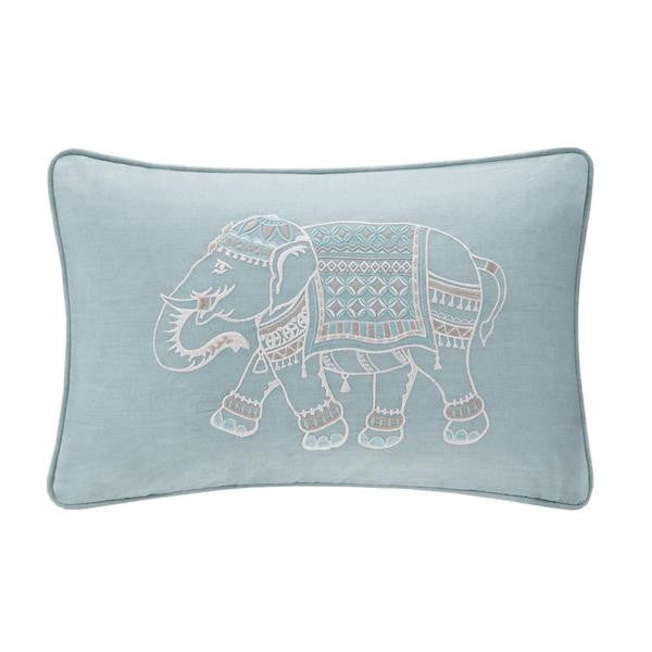 Zahira Cotton Decorative Pillow Blue