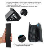 Foldable Universal Ultra Slim Wireless Bluetooth 3.0 Portable Pocket Keyboard