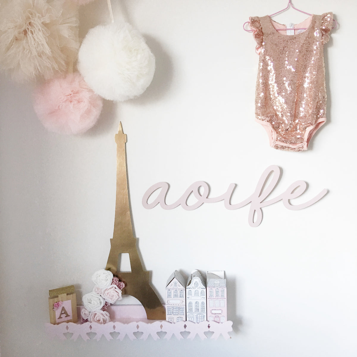 Eiffel Tower Wall Mount