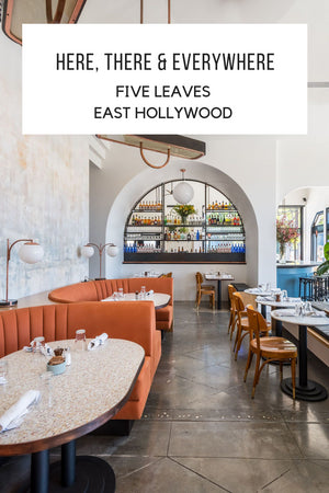 Here, There, and Everywhere: Five Leaves (East Hollywood); Gingerly Witty