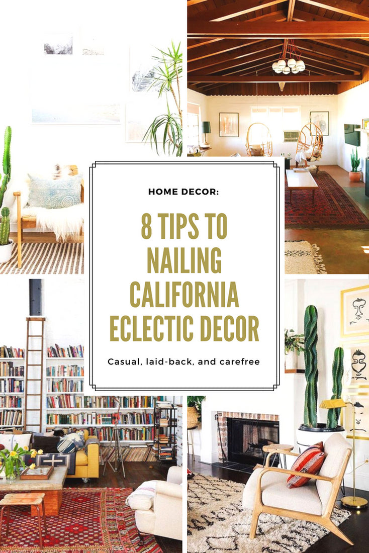 Eclectic Home Decor home decor: 8 tips to nailing california eclectic decor — gingerly