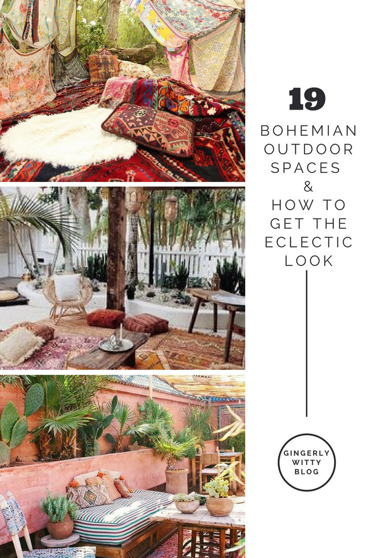 home decor 19 bohemian outdoor spaces u0026 how to get the eclectic