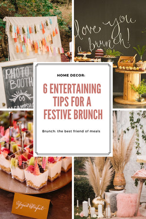Home Decor: 6 Entertaining Tips for a Festive Brunch; Gingerly Witty