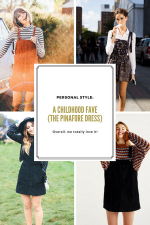 Personal Style: A Childhood Fave (the Pinafore dress) Gingerly Witty