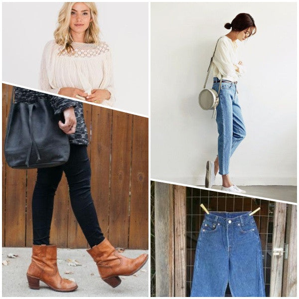 Gingerly witty peasant mom jeans
