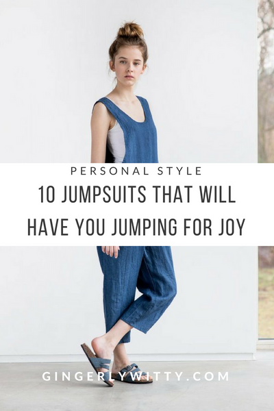 Gingerly Witty Jumpsuits overalls linen loose