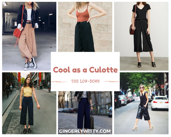 Gingerly Witty Culottes
