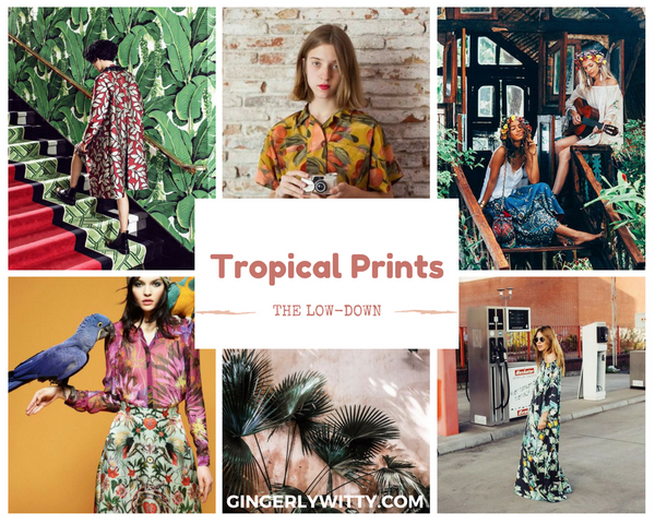 Personal Style: Tropical Prints Gingerly Witty