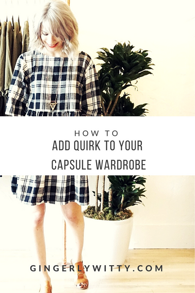 4 Sure-Fire Ways to Add Some Quirk to Your Capsule Wardrobe