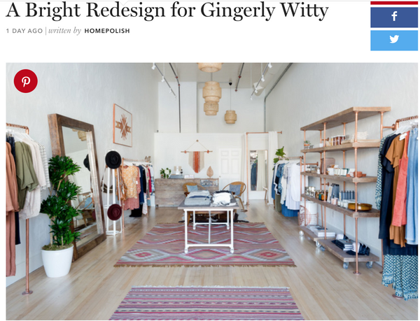 Gingerly Witty Home Polish feature article