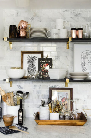Gingerly Witty Friday LinkFest glam home decor