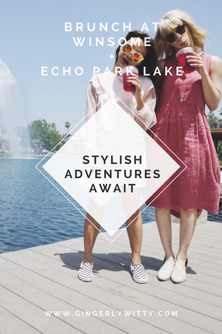 Travel: Brunch at Winsome + Echo Park Lake **Photo Update**