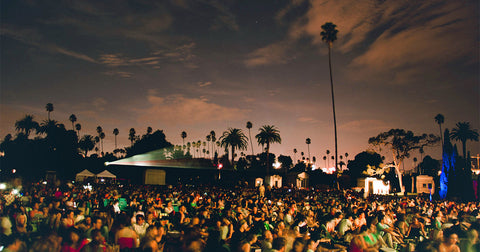 Gingerly WItty Cinespia hollywood forever cemetery LA travel