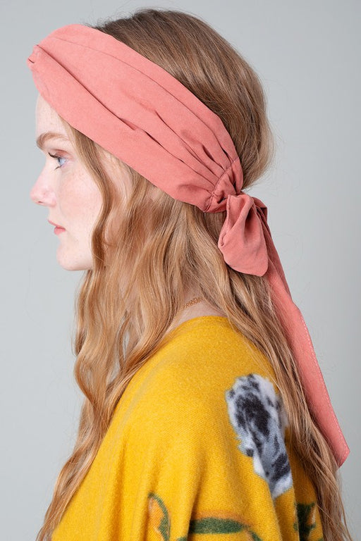 Twisted Head Wrap - Rust; Gingerly Witty