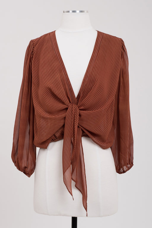 Desert Dancing Top - Sienna, j.o.a. - Gingerly Witty