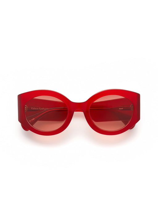 *PRE-ORDER* Reed Sunglasses - Red, Kaleos - Gingerly Witty
