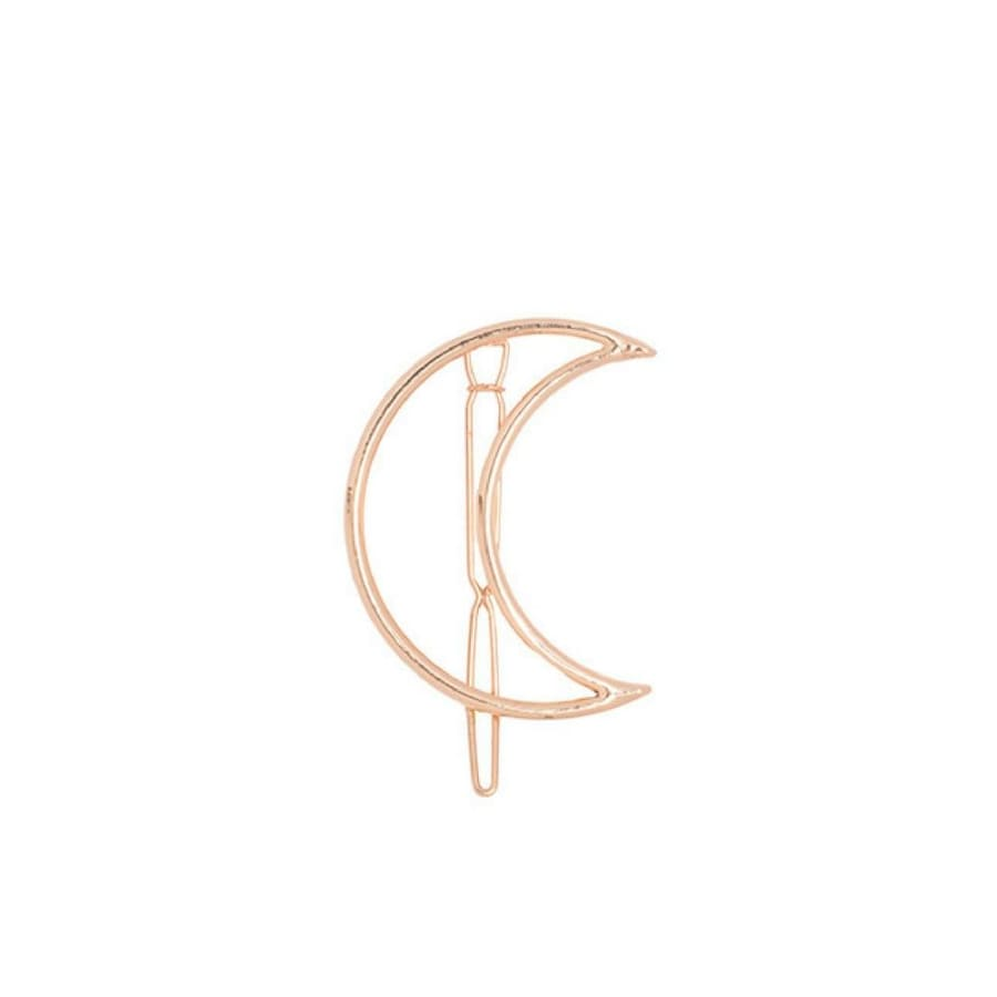 *PRE-ORDER* Moon Hair Clip - Gold, Headbands of Hope - Gingerly Witty