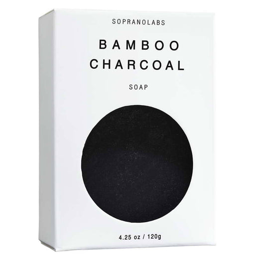 Bamboo Charcoal Vegan Soap, SopranoLabs - Gingerly Witty