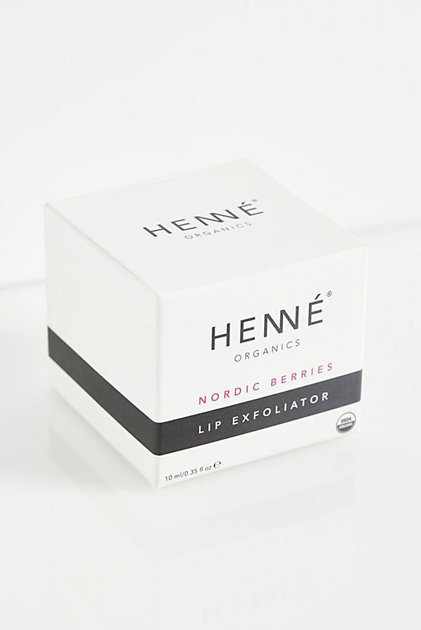 Lip Exfoliator - Nordic Berries; Henné Organics; Gingerly Witty