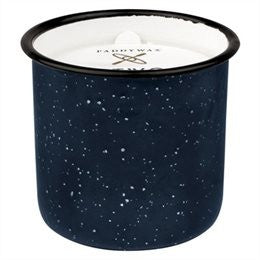 Driftwood & Indigo Enamel Candle - 9.5oz, Paddywax - Gingerly Witty