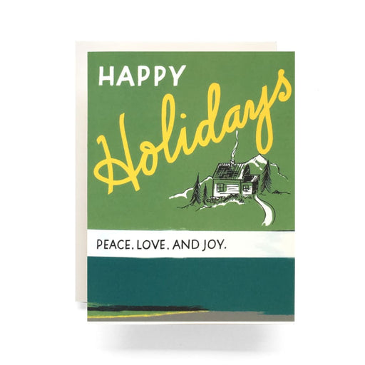 Retro Holiday Greeting Card