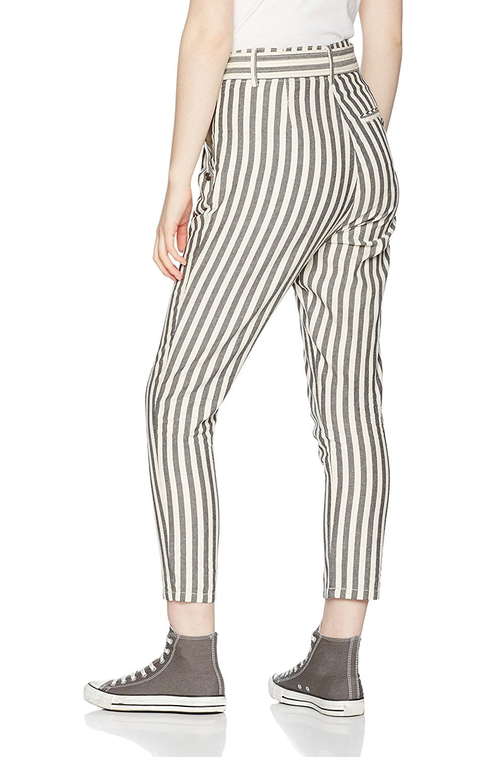 Mabil Striped Trousers, Numph - Gingerly Witty