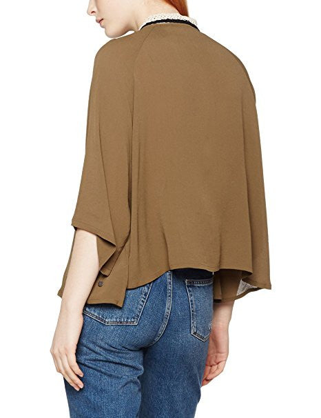 Irunn Blouse - Olive, Numph - Gingerly Witty