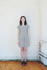 Striped Crew Dress - Ivory, Amanda Moss - Gingerly Witty