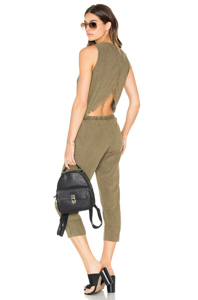 Pine-me-back Jumpsuit - Gingerly Witty