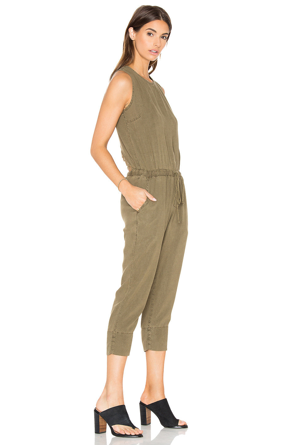 Pine-me-back Jumpsuit, Bella Dahl - Gingerly Witty