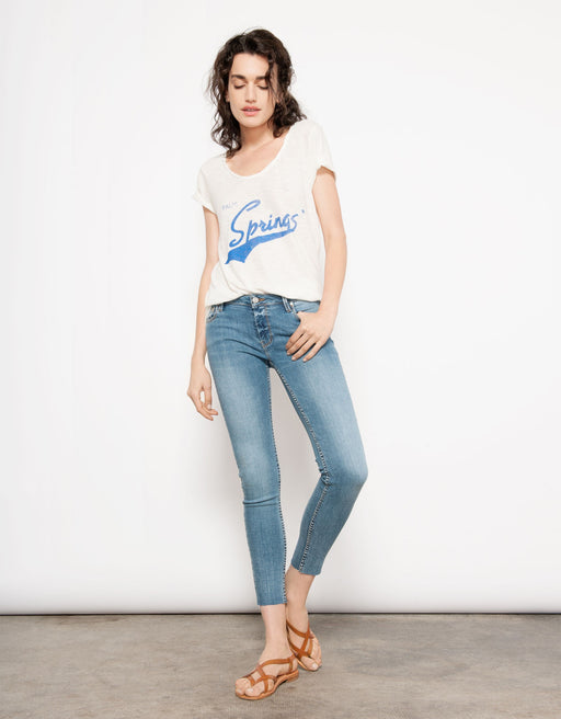 Cropped Skinny Jean Lily - Classic Denim