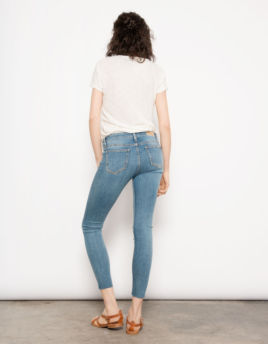 Cropped Skinny Jean Lily - Classic Denim Reiko Gingerly Witty