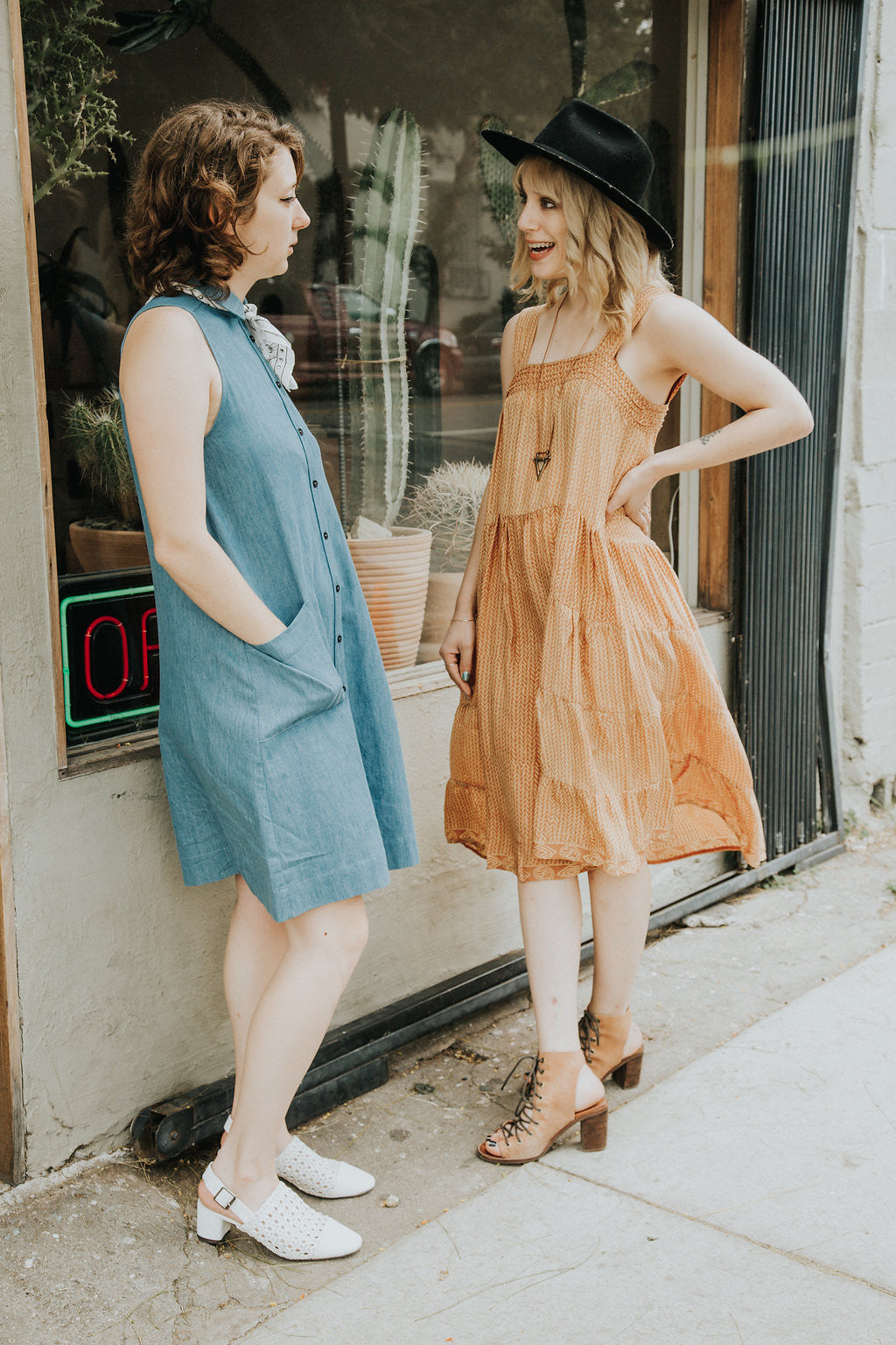Cactus Store LA Los Angeles Gingerly Witty Natalie martin Jasmine Dress Amanda Moss Lena dress""