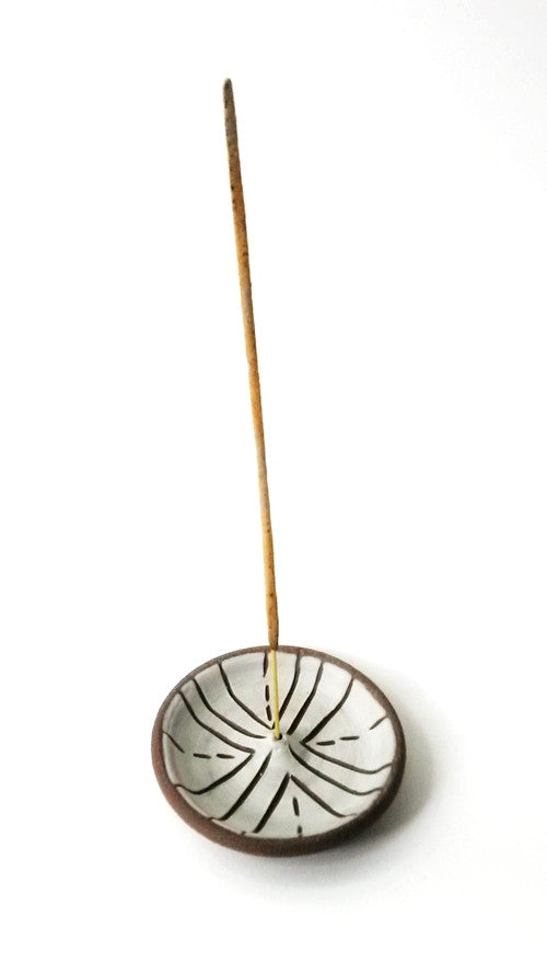 Incense Burner - Compass, Gopi Shah Ceramics - Gingerly Witty