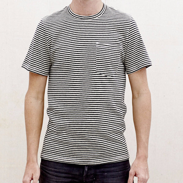 Men's Yarn Dyed Short Sleeve Pocket Tee