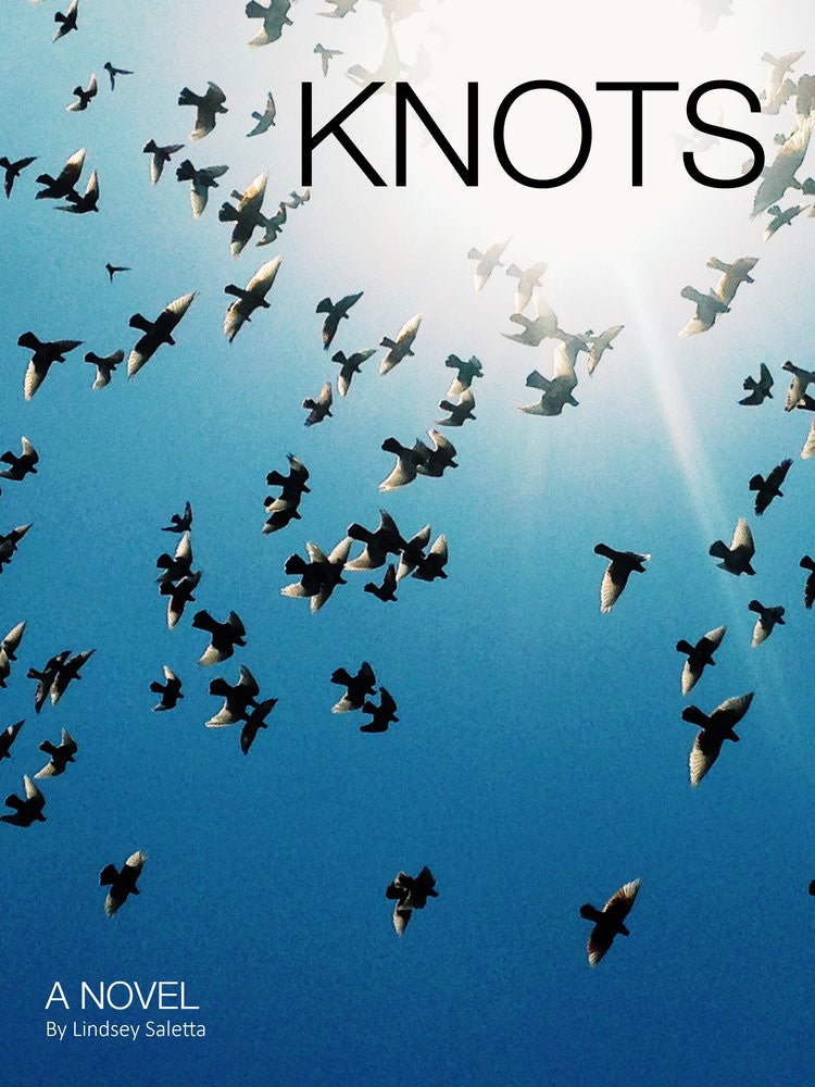 Knots - Limited Edition Signed Art Book, Lindsey Saletta - Gingerly Witty