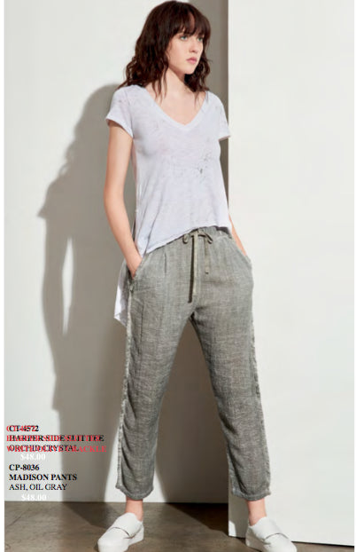 Madison Pants - Grey, Amadi - Gingerly Witty