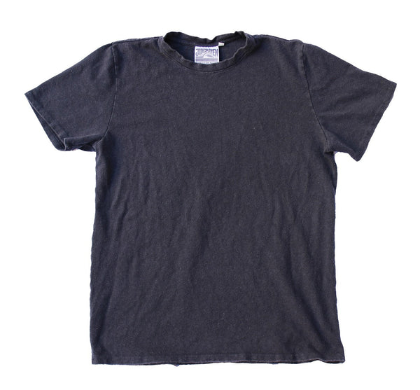 Ten Ounce Baja Short Sleeve Hemp Tee - Unisex - Navy - Gingerly Witty