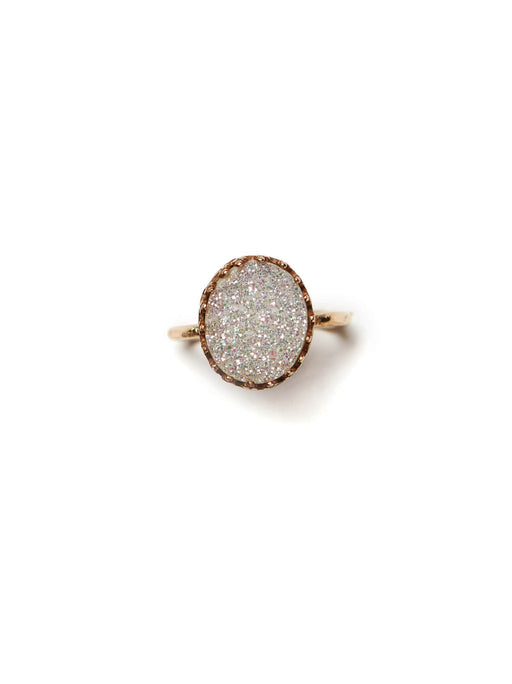 Druzy Ring, fashionABLE - Gingerly Witty