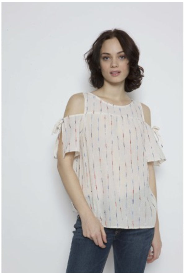 Perry Embroidered Top, Drew - Gingerly Witty