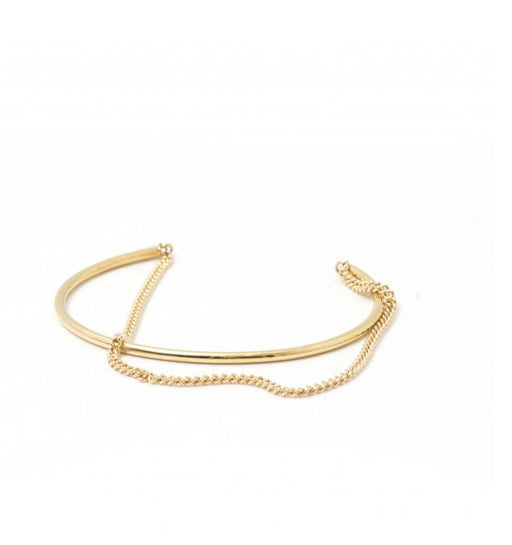 Daniella Cuff Bracelet, Thatch - Gingerly Witty