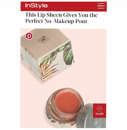 The Pretty Perfect Lip Sheen, Prim Botanicals - Gingerly Witty