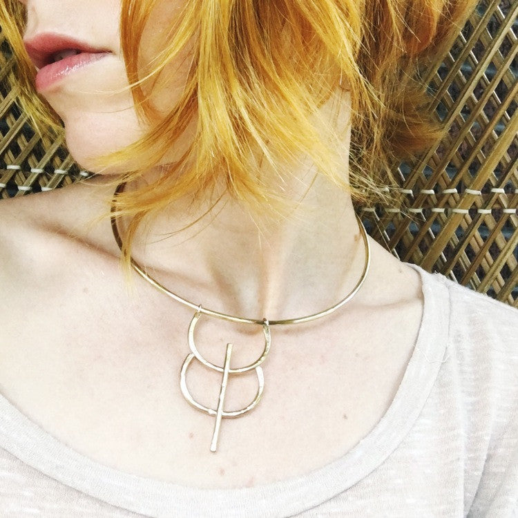 Solstice Collar, Fabel & Lore - Gingerly Witty