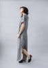Delta Dress - Grey, Temperate - Gingerly Witty