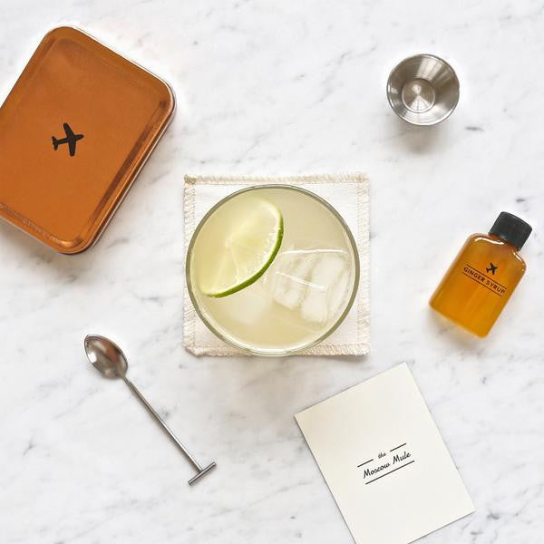 Carry On Cocktail Kit - Moscow Mule, W&P Design - Gingerly Witty